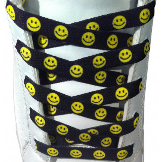 Smiley-Schnürsenkel