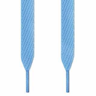 Extra-breite hellblaue Schnürsenkel