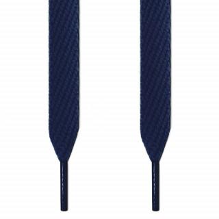 Extrabreite marineblaue Schnürsenkel
