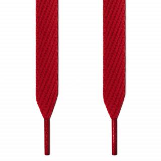 Extra-breite rote Schnürsenkel
