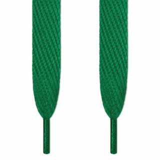 Superbreite grüne Schnürsenkel