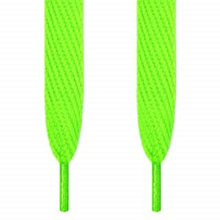 Superbreite neon-grüne Schnürsenkel