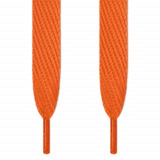 Superbreite, orangene Schnürsenkel