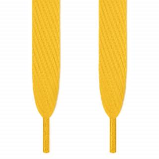 Superbreite, gelbe Schnürsenkel