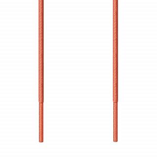 Runde, orangene Schnürsenkel für Ausgehschuhe