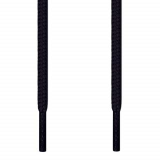 Runde, schwarze Schnürsenkel