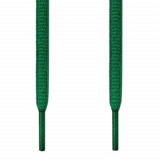 Ovale, grüne Schnürsenkel