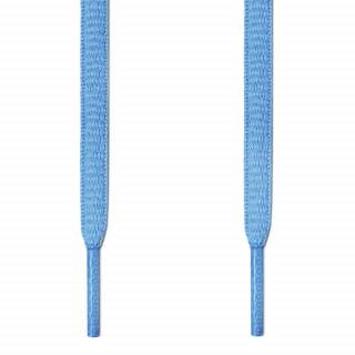 Ovale, hellblaue Schnürsenkel
