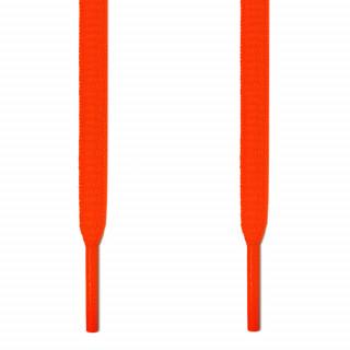 Ovale neon-orangene Schnürsenkel