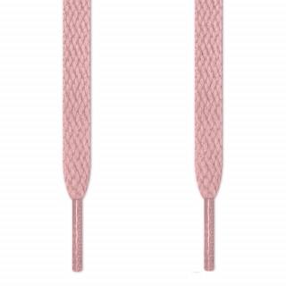 Flache, rosa Schnürsenkel