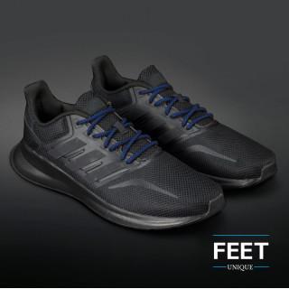 Adidas Yeezy - Schnürsenkel, schwarz und blau
